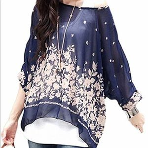 Seven Century Boho batwing blouse